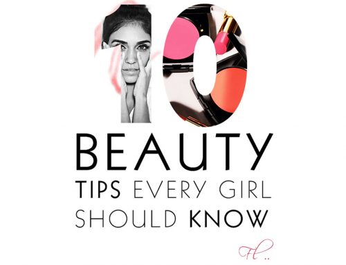 10 Beauty Tips